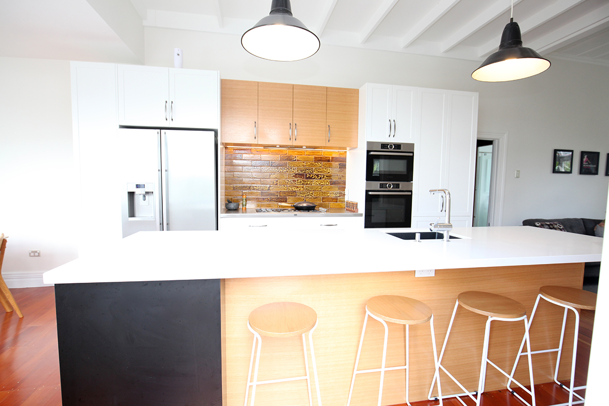 Kitchen renovation with impressive views over Mt Eden - Creative ...